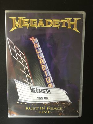 Megadeth live show DVD for Sale in Portland, OR
