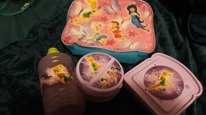 Tinkerbell lunch set make me a offer for Sale in DEVORE HGHTS, CA