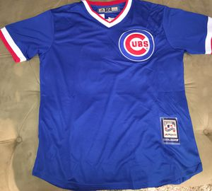 Sandberg Cubs baseball jersey brand new large $35 for Sale in Oak Park, IL
