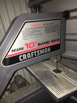 Craftsman band saw for Sale in Houston, TX