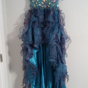 Blue Prom Dress With Jewels And Sequins for Sale in Atlanta, GA
