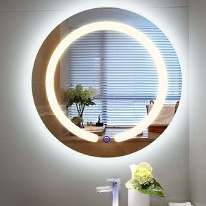 20 LED Touch Button Wall Mount Bathroom Round Mirror for Sale in Lake Elsinore, CA