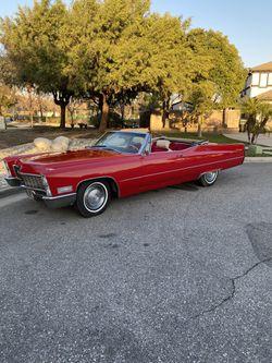 1967 Cadillac De ville for Sale in Rancho Cucamonga,  CA