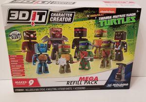 Teenage Mutant Ninja Turtle 3D iT Character Creator Mega Refill Pack for Sale in Milton, PA