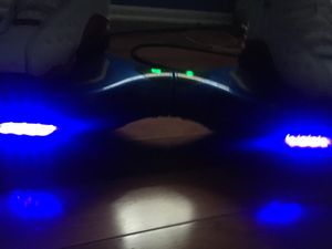 bright led chrome blue hoverboard for Sale in Newark, DE