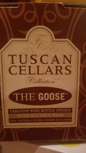 NEW! Tuscan Cellars Collection The Goose for Sale in Erie, PA