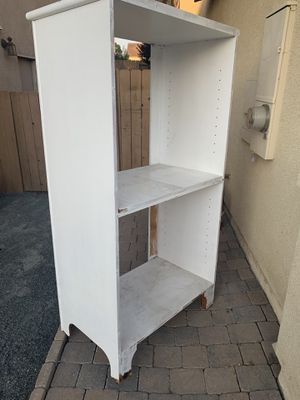 White bookcase for Sale in San Diego, CA