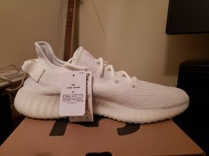 Yeezy v350 triple white for Sale in Fairfax, VA