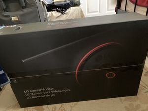 "Brand New!! Gaming Monitor w/ AMD FreeSync, 240hz. -LG 27"" : 27Gk750F-B for Sale in Fairfax, VA"