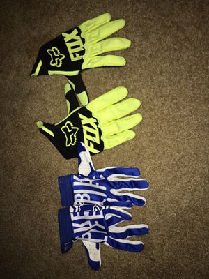 Dirt bike gloves for Sale in Washington, DC