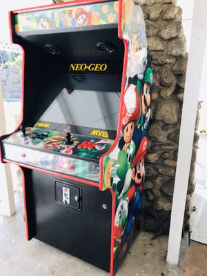 Arcade with Pandora box 6 ......1500 Games + need gone ASAP for Sale in Rosemead, CA