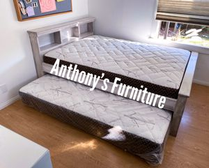 Full bed & twin roll out mattress for Sale in Lynwood, CA