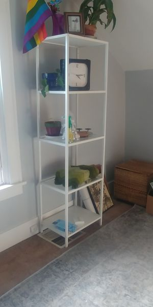 White Bookshelf for Sale in Portland, OR