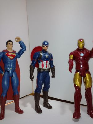 Iron Man, Superman, Captain America for Sale in Woodburn, OR