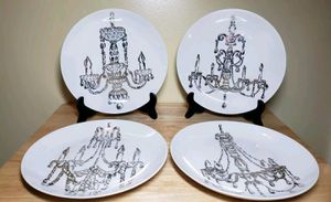 Chandelier Salad Plates set 4 for Sale in Lake Elsinore, CA