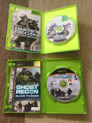 Original XBOX 360 Video Games / Come visit / Ghost Recon - Future Solder - Tom Clancy / Visit for more games 🤓🎮 for Sale in Alexandria, VA
