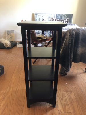 Tall Shelf/End Table for Sale in Carmichael, CA