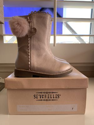 Metallic Pink Boots (size 7) for Sale in Torrance, CA