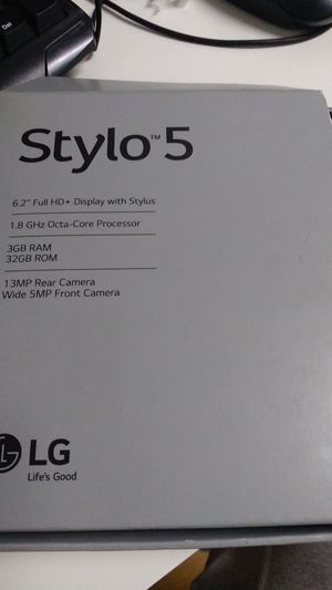LG Stylo 5 brand new for Sale in Los Angeles, CA