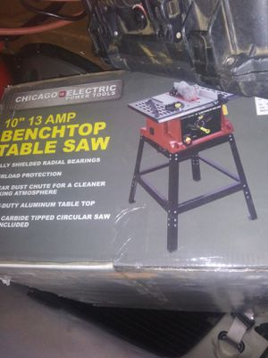 Brand new in the box chicago electric 10 inch table saw for Sale in Yukon, OK