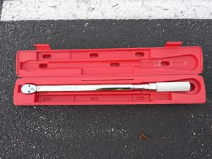 Snap on tools Brutus torque wrench hd for Sale in Clearwater, FL
