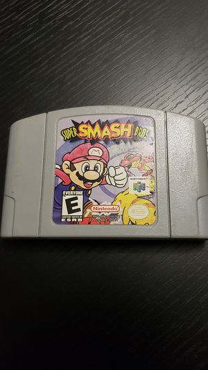 Super smash bros n64 Nintendo 64 for Sale in Gainesville, FL