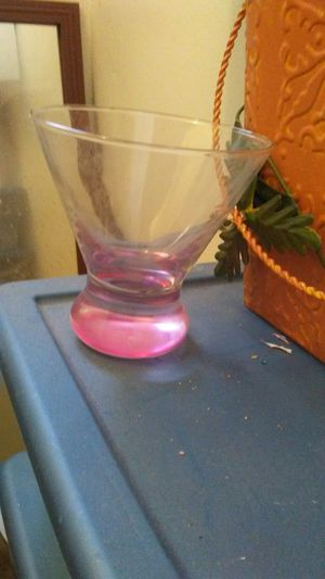 Collectors pink glass for Sale in San Francisco, CA