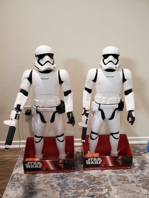 Star Wars Stormtrooper 31 inch toy figure for Sale in Huntington Beach, CA