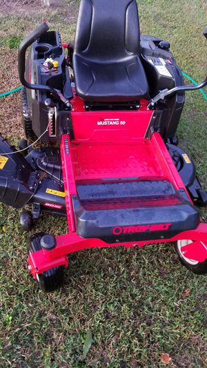 2017 Troybilt mustang 50 zero turn for Sale in Laurel, DE