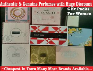 Authentic Branded Perfume Set For Women (Prices Vary) for Sale in Clovis, CA