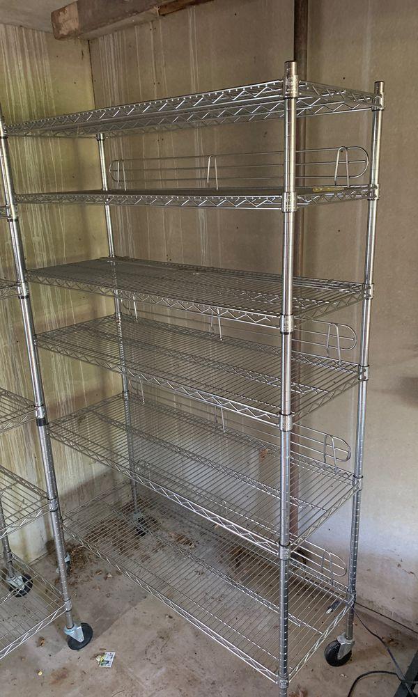 Metal Costco shelves