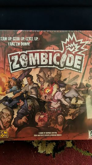 Zombicide game set for Sale in San Diego, CA