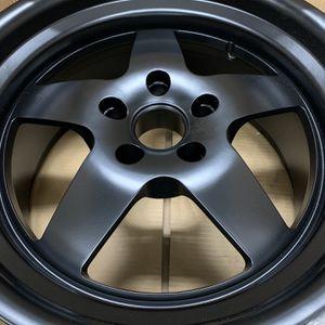 (4) 18x9.5 Klutch SL5 Matte Black Wheels for Sale in La Habra, CA