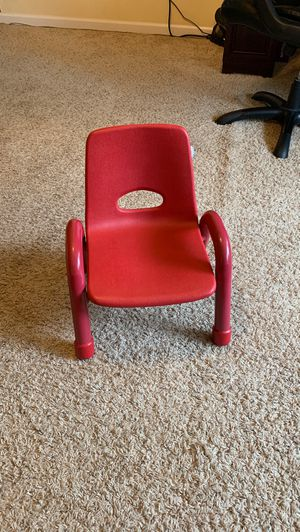 Red kids chair for Sale in Virginia Beach, VA