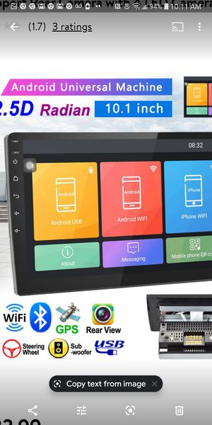Android Car Stereo for Sale in San Diego, CA