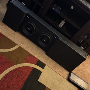 2015 - 2018 Ford Rino Lined Ported Subwoofer Box for Sale in Houston, TX
