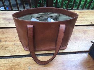 LL Bean Tote Bag, leather for Sale in Seattle, WA