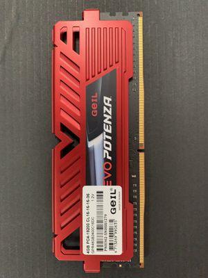 Giel 4gb DDR4 Desktop Memory for Sale in East Amwell Township, NJ