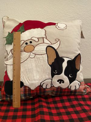 French Bulldog Christmas Pillow for Sale in Spring Valley, CA