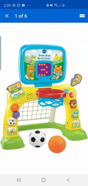 VTech Smart Shots Sports Center w/ Soccer Basketball & More - NEW in Open box for Sale in Grand Prairie, TX