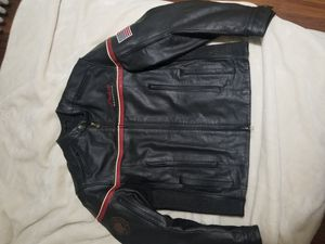 Indian motorcycle leather jacket for Sale in Philadelphia, PA