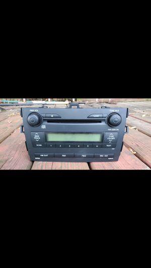 Toyota corolla 2009 cd player for Sale in Woodbridge, VA