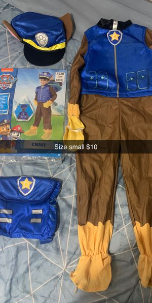 Chase Halloween Costume Size Small $10 for Sale in Chicago, IL