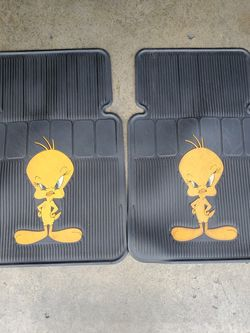 Set Of Tweety Bird Car Mats(Used) for Sale in Rowland Heights,  CA