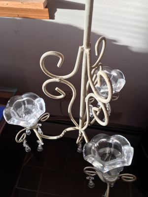 Glass chandelier for Sale in Hinsdale, IL