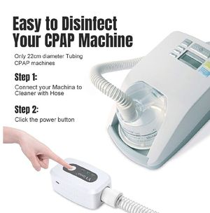 CPAP Cleaner - CPAP Supplies Portable Mini CPAP Cleaner Disinfector - CPAP Ozone for CPAP Mask,Air Tubes,Machine Tube Respirator 2020 Upgraded for Sale in Anaheim, CA