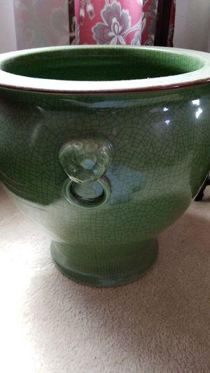 Large heavy jade vase for Sale in Chesapeake, VA
