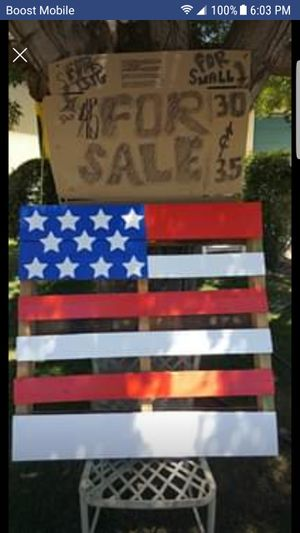 USA Custom Flag Pallets for Sale in US