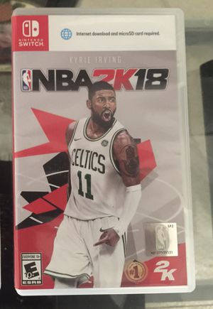 Nintendo Switch NBA2K18 for Sale in Columbia, MD
