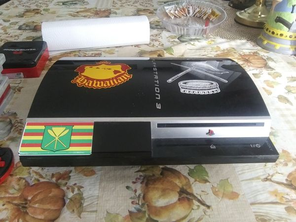 Fat boy ps3 still works good you can play games n watch blu-ray dvds